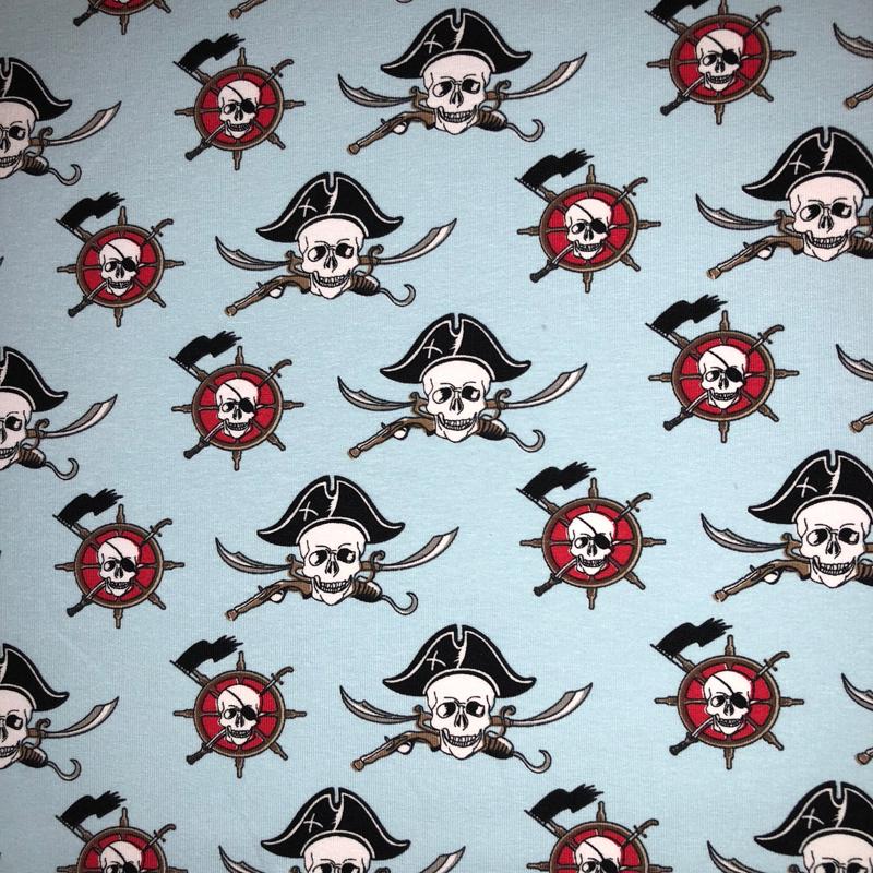jersey stoffe kindermotive jersey stoffe piraten. Black Bedroom Furniture Sets. Home Design Ideas